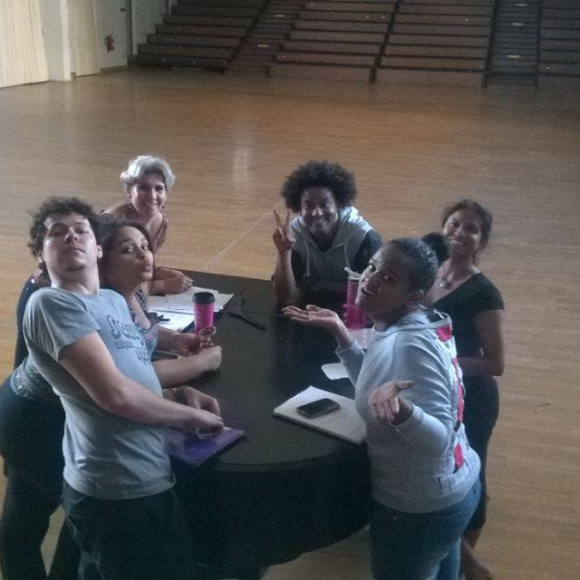 Eve's Mark Team in Rehearsal