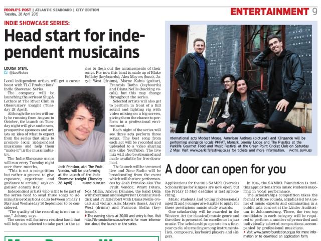 Headstart for Indie Musicians